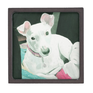 Sully the Jack Russell Terrier Jewelry Box