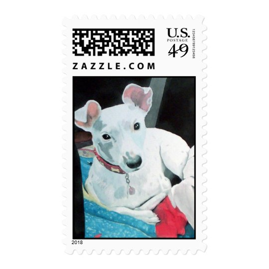 Sully the Jack Russell Terrier Postage