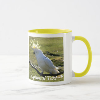 Sulphur-Crested Cockatoo in Australia Mug