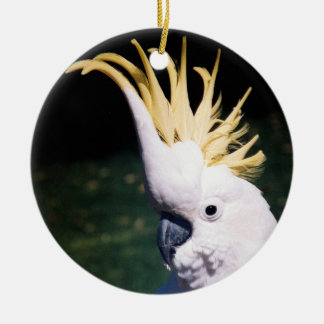 Sulphur-crested Cockatoo Ornament