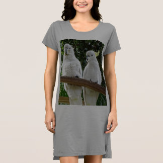 Sulphur Crested Cockatoo T-shirt Dress / Nightie