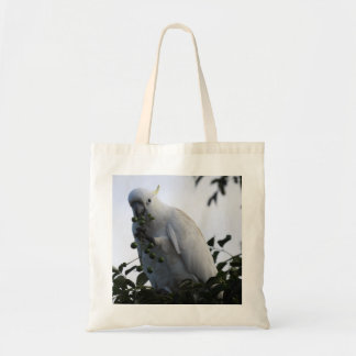 Sulphur-Crested Cockatoo Tote Bag