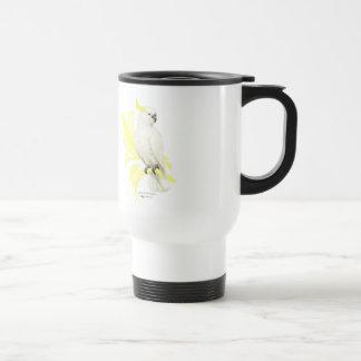 Sulphur Crested Cockatoo Travel Mug