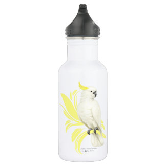 Sulphur Crested Cockatoo Water Bottle