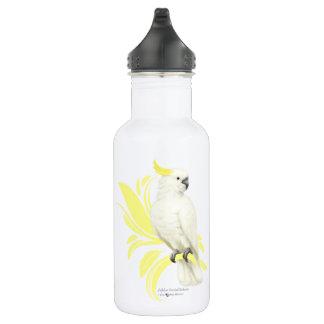 Sulphur Crested Cockatoo Water Bottle