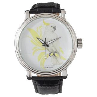 Sulphur Crested Cockatoo Wrist Watches