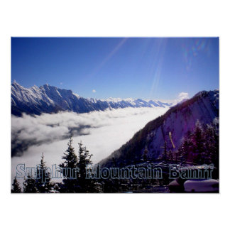 Sulphur Mountain Banff Poster - Tod Kennedy