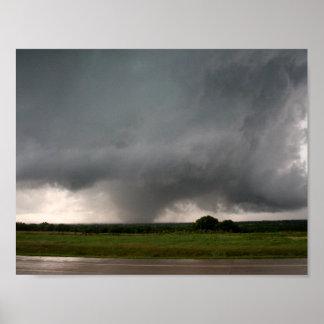 Sulphur, OK EF3 Tornado Poster