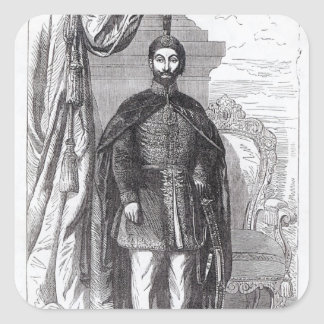 Sultan Abdul Medjid Square Sticker
