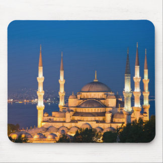 Sultan Ahmed Mosque during twilight Mousepad