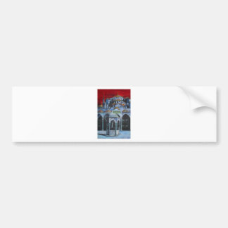 Sultan Ahmed Mosque Istanbul Bumper Stickers