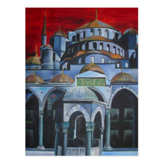 Sultan Ahmed Mosque, Istanbul Postcard