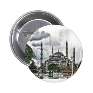 Sultan Ahmed Mosque - Istanbul Turkey Pinback Button