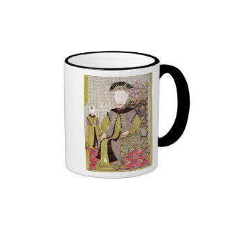Sultan Ahmet III  and the heir to the throne Ringer Coffee Mug