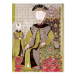 Sultan Ahmet III  and the heir to the throne Postcard