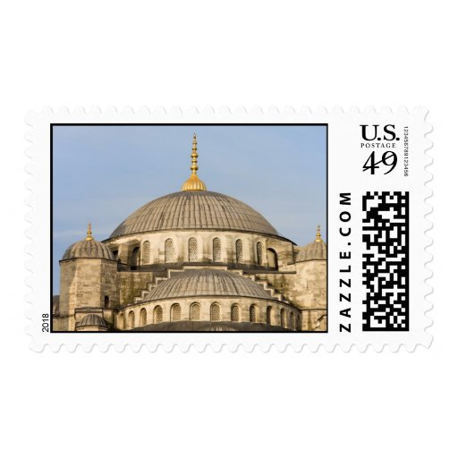 Sultan Ahmet Mosque Domes Stamp