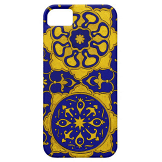 'Sultan Barquq (enlarged) ' gold and lapis cover iPhone 5 Covers