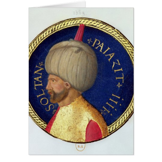 Sultan Bayezid I Card