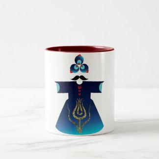 Sultán de sultanes taza de dos tonos