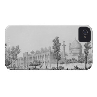 sultán Hussein de Madrasa-yi Masjid-i Shah, en iPhone 4 Case-Mate Protectores