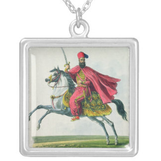 Sultan Mahmud II  1829 Silver Plated Necklace