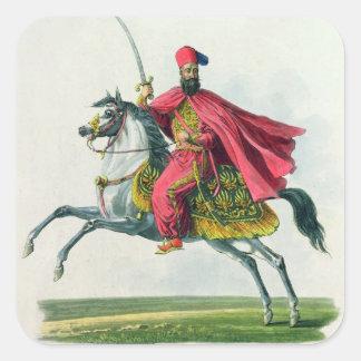 Sultan Mahmud II  1829 Square Sticker