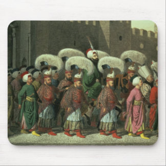 Sultan Mahmud II in Procession, 1809 Mouse Pad
