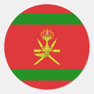 Sultan Of Oman, Norway Classic Round Sticker