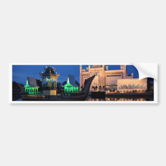 Sultan Omar Ali Saifuddin Mosque Car Bumper Sticker