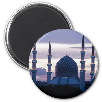 Sultan Salahuddin Abdul Aziz Mosque, Shah Alam, Se 2 Inch Round Magnet