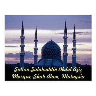 Sultan Salahuddin Abdul Aziz Mosque, Shah Alam, Se Postcard