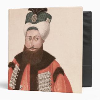 Sultan Selim III  18th-19th century 3 Ring Binders