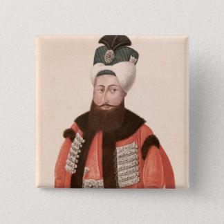 Sultan Selim III  18th-19th century Pinback Button