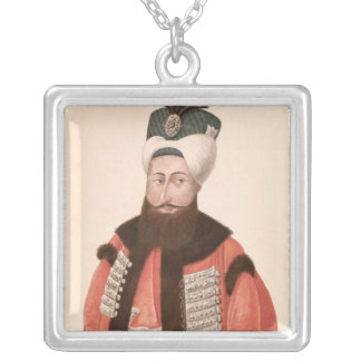 Sultan Selim III  18th-19th century Silver Plated Necklace