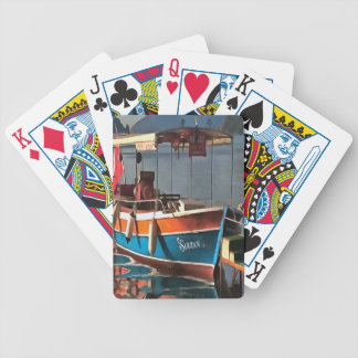 Sultan Taxi Boat Marmaris Bicycle Playing Cards