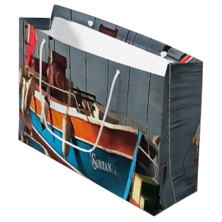 Sultan Taxi Boat Marmaris Large Gift Bag