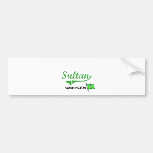 Sultan Washington City Classic Bumper Stickers