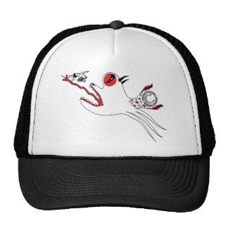 Sultana Fish design Trucker Hat