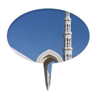 Sultanato magnífico Omán de Muscat de la mezquita  Figuras De Tarta