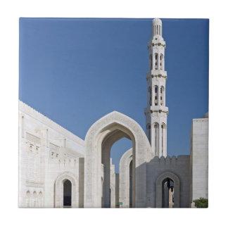 Sultanato magnífico Omán de Muscat de la mezquita  Azulejos Cerámicos