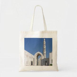 Sultanato magnífico Omán de Muscat de la mezquita  Bolsas De Mano