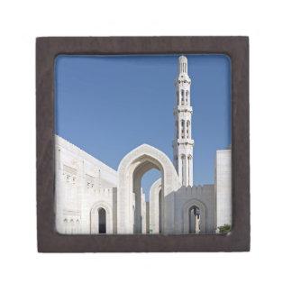 Sultanato magnífico Omán de Muscat de la mezquita  Cajas De Regalo De Calidad