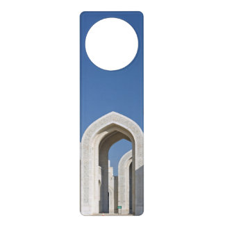 Sultanato magnífico Omán de Muscat de la mezquita  Colgantes Para Puertas