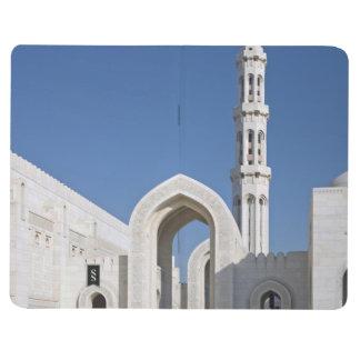 Sultanato magnífico Omán de Muscat de la mezquita  Cuadernos Grapados