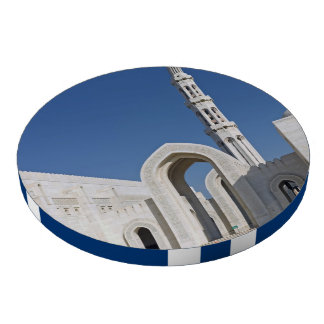 Sultanato magnífico Omán de Muscat de la mezquita  Fichas De Póquer