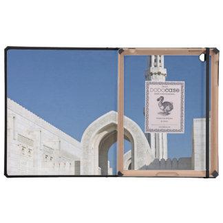 Sultanato magnífico Omán de Muscat de la mezquita  iPad Protectores