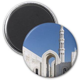 Sultanato magnífico Omán de Muscat de la mezquita  Imán