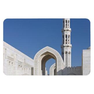 Sultanato magnífico Omán de Muscat de la mezquita  Imán Flexible