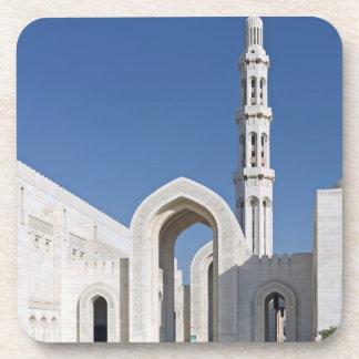 Sultanato magnífico Omán de Muscat de la mezquita  Posavasos