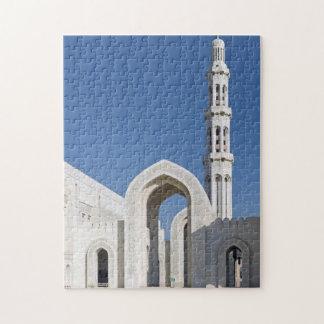 Sultanato magnífico Omán de Muscat de la mezquita  Puzzles